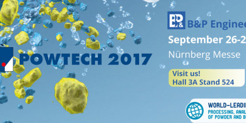 Leading Trade Fair for Processing, Analysis, and Handling of Powder and Bulk Solids Powtech 2017