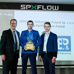 Top Performance Award – SPXFLOW Supplier Day 2019